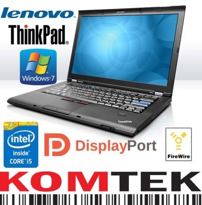 Laptop Lenovo Thinkpad T410 I5 520m 4gb 1440x900 4912394825 Oficjalne Archiwum Allegro