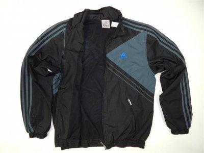 Nowa kurtka Adidas z dużym logo sportowa w Odzież wierzchnia