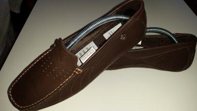 sprzedaż obuwia dobra obsługa oficjalny sklep PUMA MOKASYNY MĘSKIE BRĄZOWE SKÓRA NOWE FERRARI 42 ...