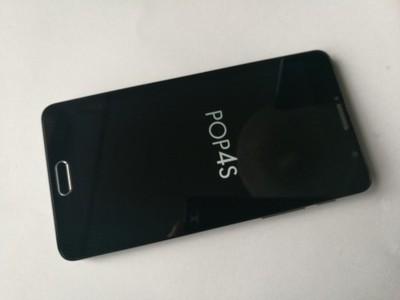 Alcatel Pop 4S czarny, prawie nowy, gwarancja