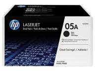 HP Toner LJ P2035/55 CE505D DualPack 2 x 2.3k