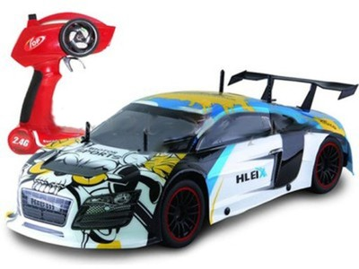 Speed Car auto do szybkiej jazdy 18km/h NIEBIESKI