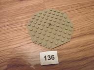 Lego elementy ciemna piaskowa dk tan płytka 10x10
