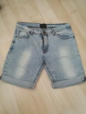 Spodenki jeansowe męskie Zara rozmiar 31