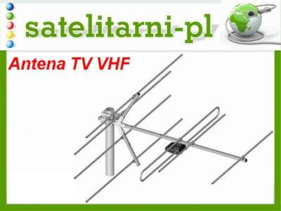 Antena TV DVB-T VHF Mux 8 antena 6-12