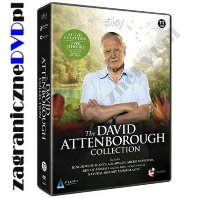 David Attenborough 11DVD Kolekcja Królestwo Roślin