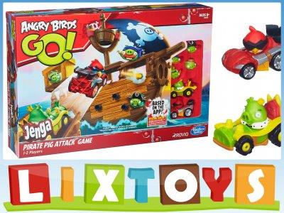 Hasbro Gra Angry Birds Go Jenga Statek A6439 6216128146 Oficjalne Archiwum Allegro