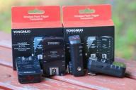 Zestaw wyzwalaczy YONGNUO YN622C dla Canona 4 szt.