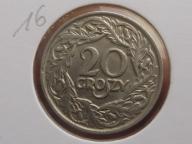 20 GROSZY 1923 rok  16