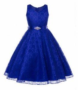 b9e93458 DOSTAWA24H ekskluzywna koronkowa sukienka 140/146