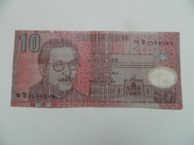 Bangladesz 10 taka