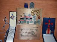 Stare pamiatki Niemieckie. Medale, odznaczenia itp