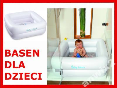 Basen Wanienka Dla Dzieci Niemowląt Pod Prysznic 5185420627