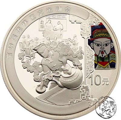 Chiny, 10 yuan Pekin olimpiada 2008, Herbaciarnia