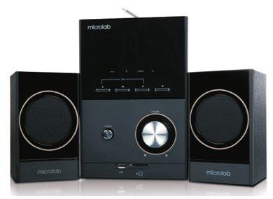 Głośniki M-223BT Bluetooth Radio SD USB Microlab