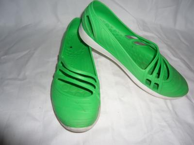 baleriny adidas gumowe .,zielone,rozm 36