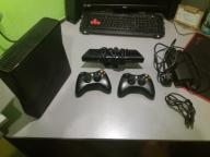 Xbox 360 slim RGH + kinect + 35 gier + 2 pady