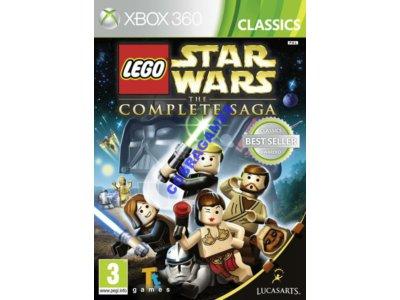 LEGO STAR WARS THE COMPLETE SAGA XBOX 360 NOWA 24H