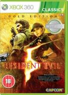 RESIDENT EVIL 5 GOLD EDITION HD NOWA XBOX 360
