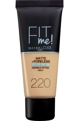 Maybelline Fit Me Matte & Poreless Foundation podkład