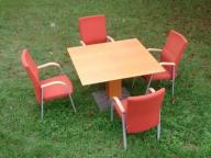 Stół kwadratowy 110 x 110  GREKKO -lite drewno !!
