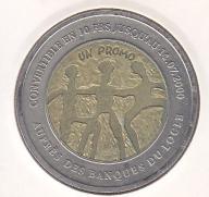 10 Franków SZWAJCARIA 2000 LOKALNY Locle