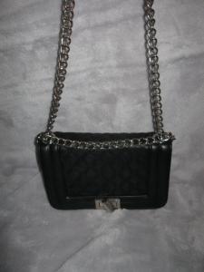f2e47a81a4dc1 MOHITO Śliczna czarna torebka...CHANELKA!!!! - 5925723782 ...