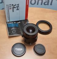 Canon Tilt-Shift TS-E 24mm f/3.5L jak nowy gw