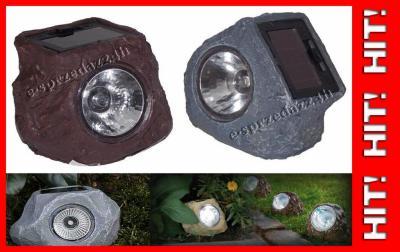 Lampy Solarne Ogrodowe Kamień Imitacja Kamienia 6161518104