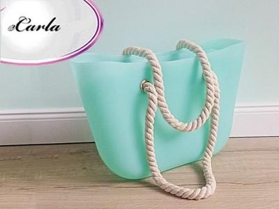 178a65a035dc0 Torba Gumowa Miejska JELLY BAG pudrowe kolory T1 - 6239760351 ...