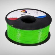 Zielony filament PLA, 1,75 mm, 1kg, Druk 3D