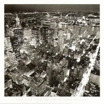 Empire State Building plakat obraz 70x70cm /09814