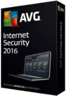 AVG Internet SECURITY 4PC !! 1 Rok  2016 PL NOWY