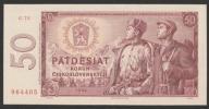 CSRS (Czechosłowacja) - 50 koron - 1964 - stan UNC