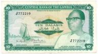 SNMW Gambia 10 dalasis 1972-86 st.3