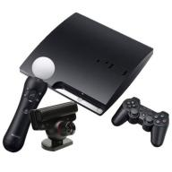 Zestaw PS3 Play Station 3 320slim Move Gry Karabin