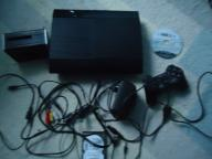 Playstation 3 Super Slim 320 GB+320GB+Czytnik+Gra