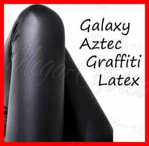 Legginsy galaxy latex Graffiti Aztec- 12 modeli