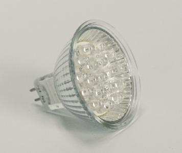 Żarówka LED MR16 12V 1,4W niebieska [DS]