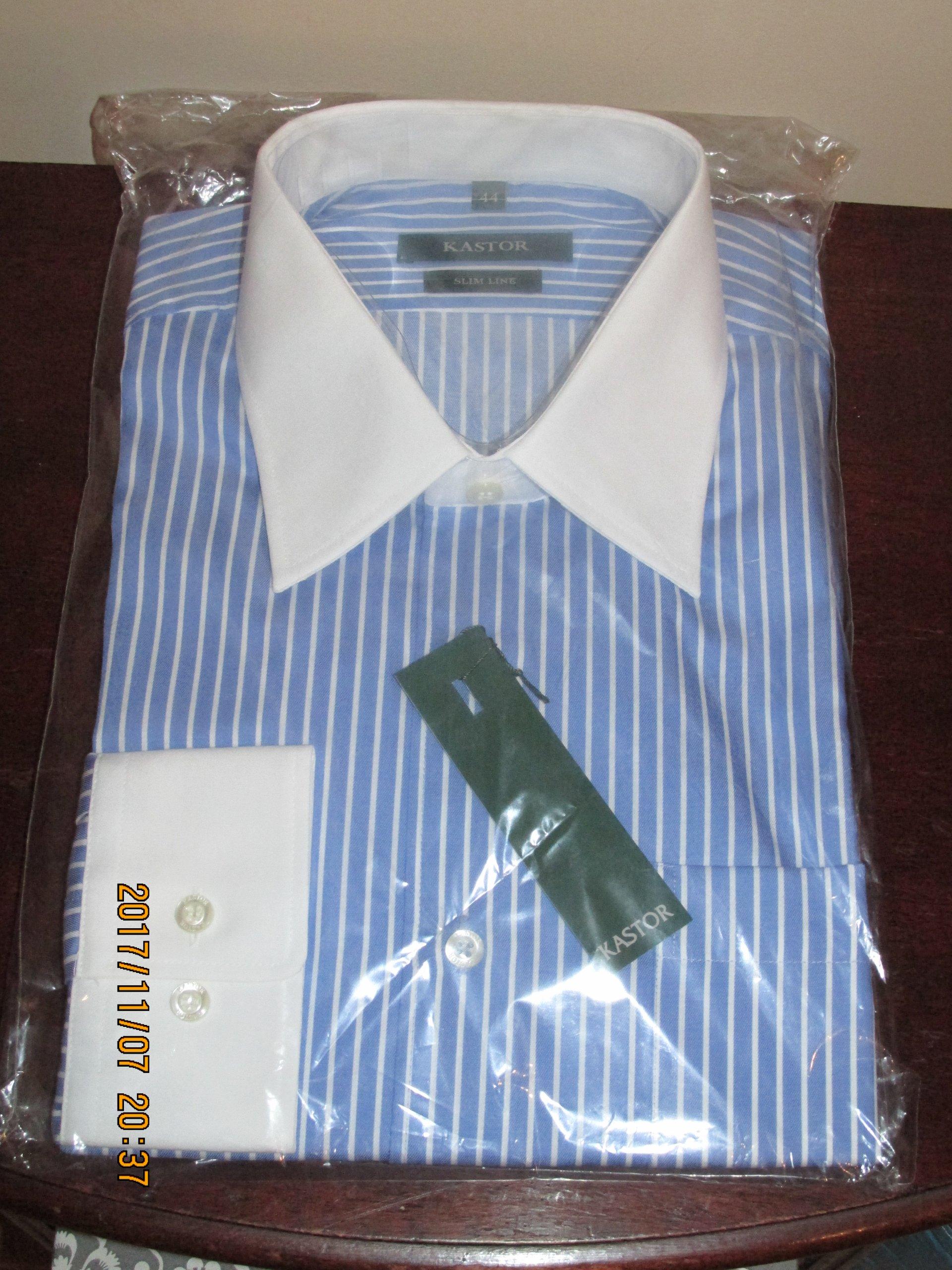 41b367bdb56e6a Koszula męska KASTOR w.176/183 r.44 SLIM - 7036227645 - oficjalne ...