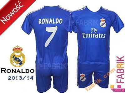 7308b32a3 NB Ronaldo Real Madryt strój komplet piłkarski XL - 3582832296 ...