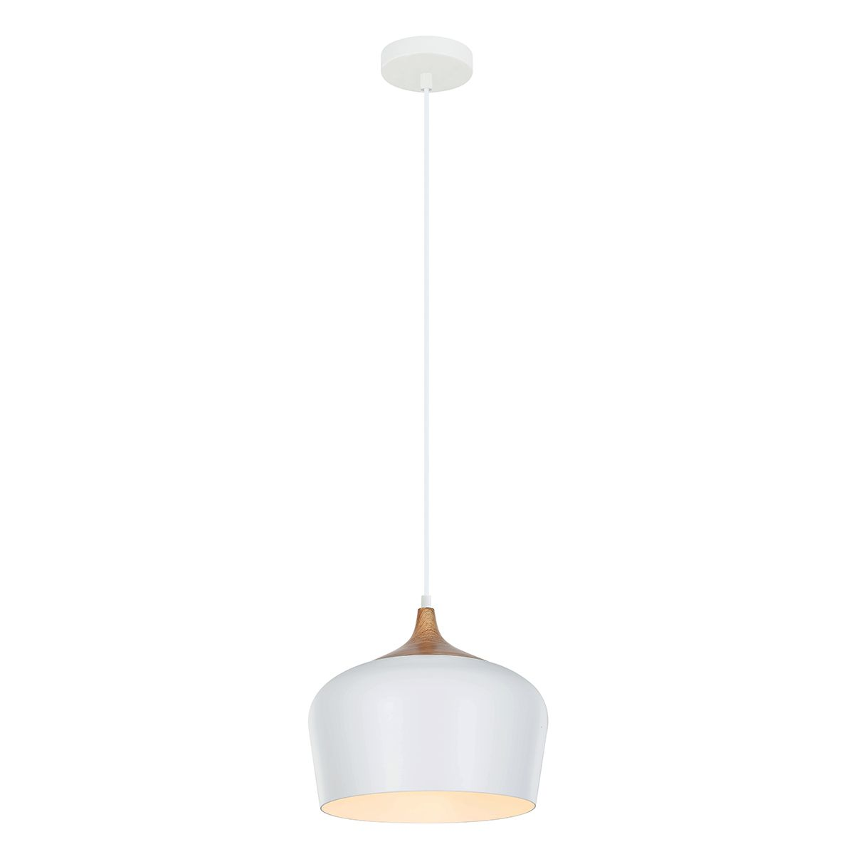 Lampa wisząca BRITTA  MDM-2681/1M W  - Italux