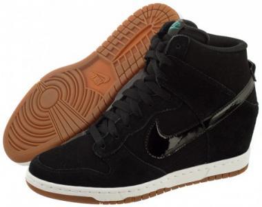 buty nike damskie na koturnie czarne
