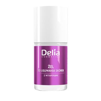 Delia żel do usuwania skórek z witaminami 11ml