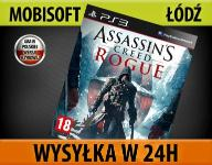 ASSASSIN'S CREED ROGUE - PL - PS3 NOWA WYS24h ŁÓDŹ