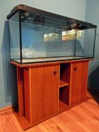 Akwarium 240 l duże zestaw