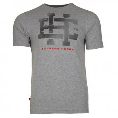 Extreme Hobby T-shirt CLASSIC EH JASNY SZARY (Rozm