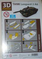 Puzzle 3 D - CZOŁG LEOPARD 2 A6