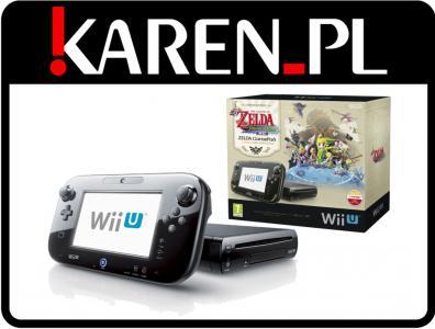 Nintendo Wii U Premium 32gb Black Legend Of Zelda 5226363260 Oficjalne Archiwum Allegro
