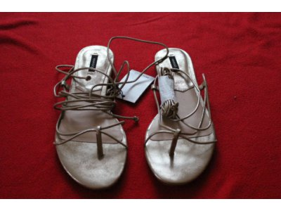 sandały ze sznurka allegro